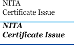 NITA Certificate Issue